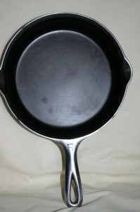 Griswold 6 chrome top