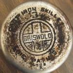 No3 Griswold chrome logo