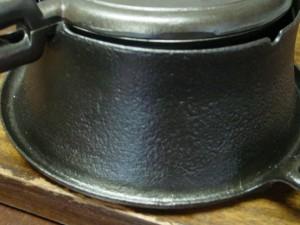 waffle iron riser side
