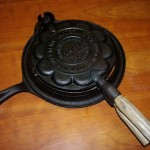 Heart-Shaped Waffle Iron side iso