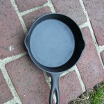 No.3C Wagner Cast Iron Skillet top