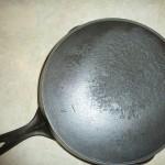 No7 ERIE Cast Iron Skillet Bottom