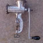 Enterprise 10 grinder left