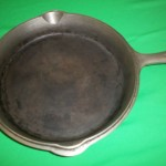 No90 Griswold Deep Dble Skillets top inside view