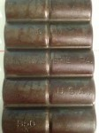 Griswold French roll Pan No 11 bottom close